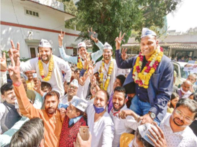 BJP lost Delhi by-elections | दिल्लीतील पोटनिवडणुकीत भाजपचा धुव्वा