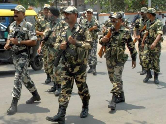 Voting efficiency: Hundreds of Armed Forces of CAPF, CISF are enrolled | मतदान दक्षता : सीएपीएफ, सीआयएसफच्या सशस्त्र दलाचे शेकडो जवान दाखल