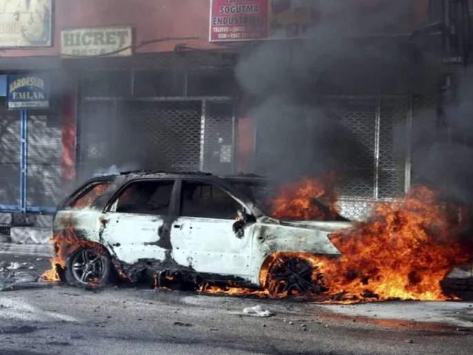 blast in afghanistan jalalabad city10 died | अफगाणिस्तानात सेनेच्या वाहनाजवळ बॉम्बस्फोट, 10 जणांचा मृत्यू