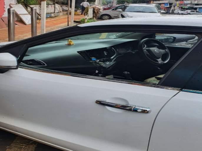 Vehicles breaken incident on Sinhagad road, crime registred | सिंहगड रस्त्यावर वाहनांची तोडफोड, गुन्हा दाखल