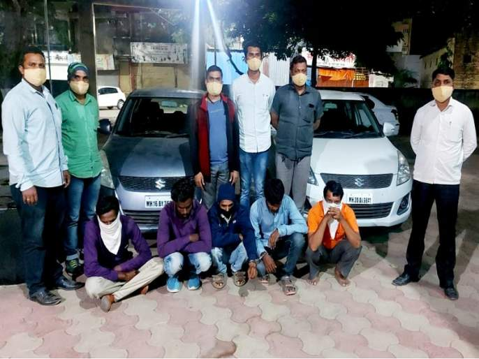 An inter-district gang of fathers and sons who stole the car of a Inspector has gone missing | फौजदाराची कार चोरणारी पिता-पुत्रांची आंतरजिल्हा टोळी गजाआड
