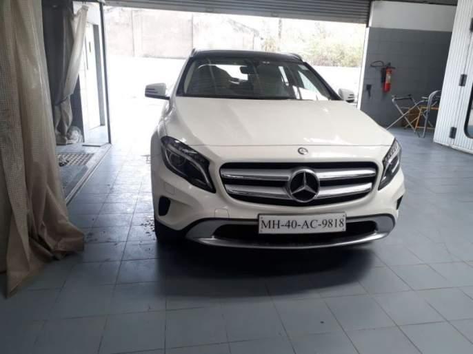 Senior Advocate's Mercedes Stolen: Events in Nagpur District Court premises | वरिष्ठ वकिलाची मर्सिडीज चोरीला : नागपूरच्या जिल्हा न्यायालय परिसरातील घटना