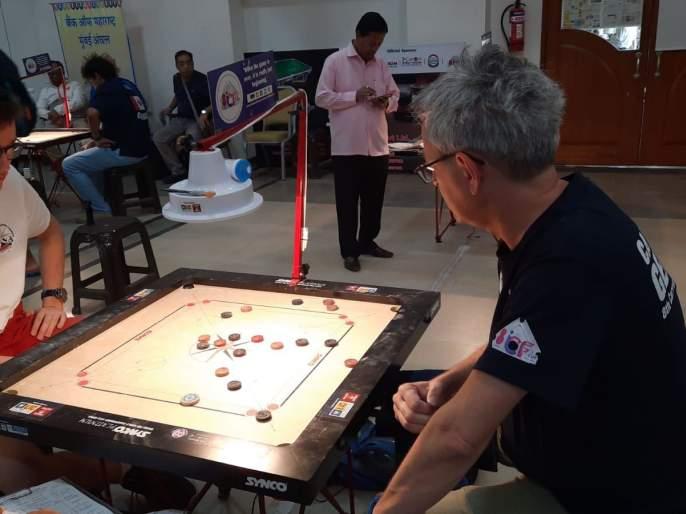 International Carrom Competition: India's hopes on three Indian players, including world champion Prashant More | आंतरराष्ट्रीय कॅरम स्पर्धा : विश्वविजेता प्रशांत मोरेसह भारताच्या तीन खेळाडूंवर भारताच्या आशा