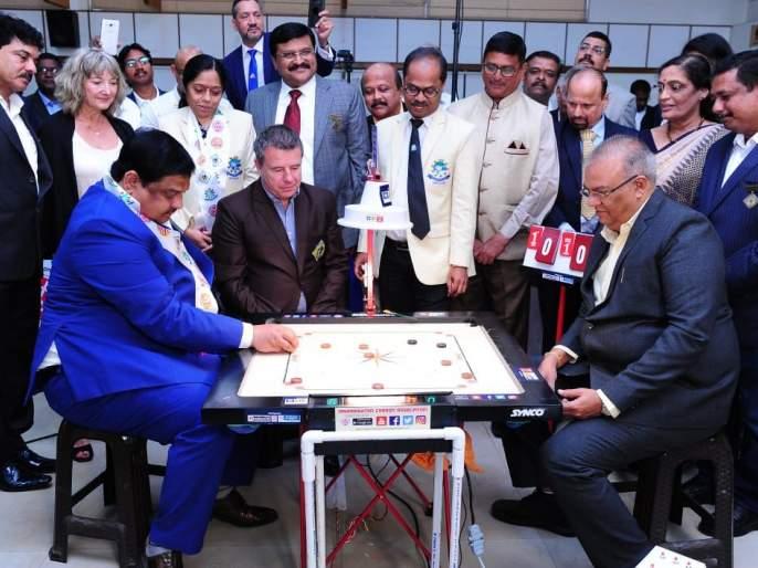 International Carrom Competition: India's Zaheer, Nishant, Peter, Sandeep won 1st round | आंतरराष्ट्रीय कॅरमस्पर्धा : भारताच्या झहीर, निशांत, पीटर, संदीप यांची आगेकूच
