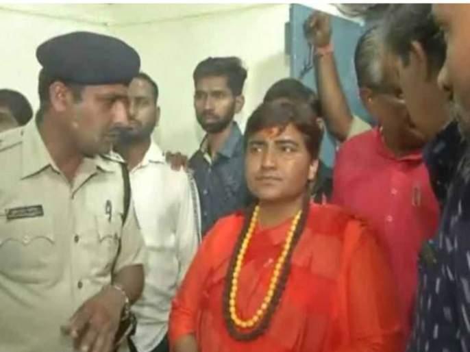 Lok Sabha Election 2019 Pragya Singh Thakur was admitted to the Strangroom in the middle of the night | प्रज्ञा सिंह ठाकूर मध्यरात्री अचानक स्ट्राँगरूममध्ये दाखल