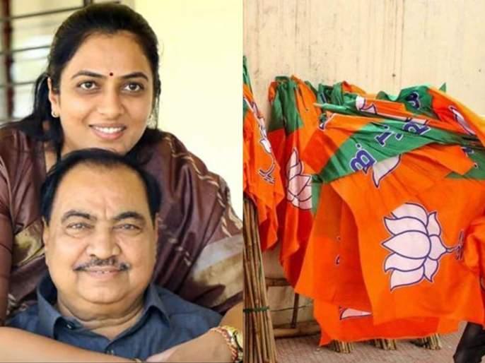 Were you wearing Nagpuri bangles then? Angry question of Khadse's daughter to MLA ram satpute | तेव्हा तुम्ही नागपुरी बांगड्या भरल्या होत्या का? खडसेंच्या लेकीचा संतप्त सवाल