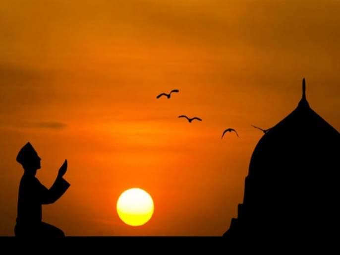 Ramadan Eid : Moon sightings did not occur; The first 'Ramadan' of 'Ramadan' is on Wednesday   Ramadan Eid : चंद्रदर्शन घडले नाही; 'रमजान'चा पहिला 'रोजा' बुधवारीच