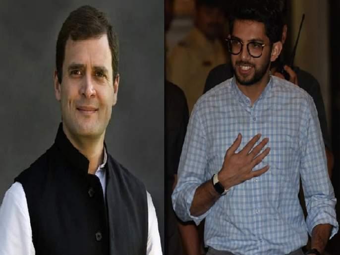 Rahul Gandhi is called 'Cartoon Network'; Now Aditya Thackeray meet him | राहुल गांधींना म्हणाले होते 'कार्टून नेटवर्क'; आदित्य ठाकरेंनी आता घेतली त्यांचीच भेट