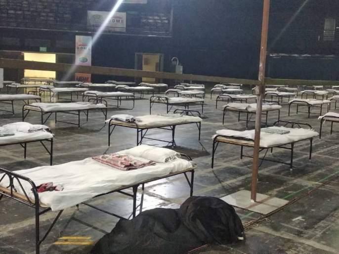 3777 empty beds for Kovid patients in Mumbai, another 1100 beds will be added   मुंबईत कोविड रुग्णांसाठी ३७७७ रिक्त खाटा, आणखी ११०० बेड वाढणार