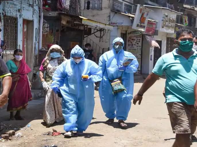 OMG! corona patient saw health team and ran away, caught after hour later   बाबो! आरोग्य पथक दिसताच कोरोना पॉझिटिव्ह रूग्णाने ठोकली धूम; एक तासानंतर लागला हाती