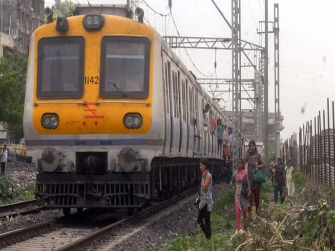 Delays on Central Railway due to track fractures between Kurla-sion station | मध्य रेल्वेवरील वाहतूक विस्कळीत, कुर्ला-सायनदरम्यान रेल्वे रूळाला तडा
