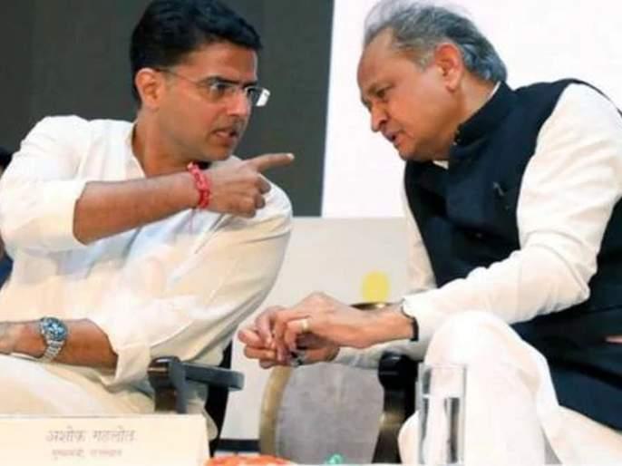 Gehlot government called Emergency meeting at night;, two dozen MLA with Sachin pilot | Rajasthan political crisis: गेहलोत सरकारची रात्री लिटमस टेस्ट; तातडीची बैठक, दोन डझन आमदार पायलटांकडे