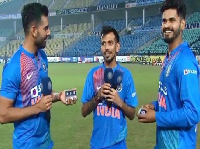 After India's victory, one player using bad word, will BCCI take action after watching video ... | भारताच्या विजयानंतर खेळाडूनी दिली शिवी, बीसीसीआय व्हिडीओ पाहिल्यावर कारवाई करणार...