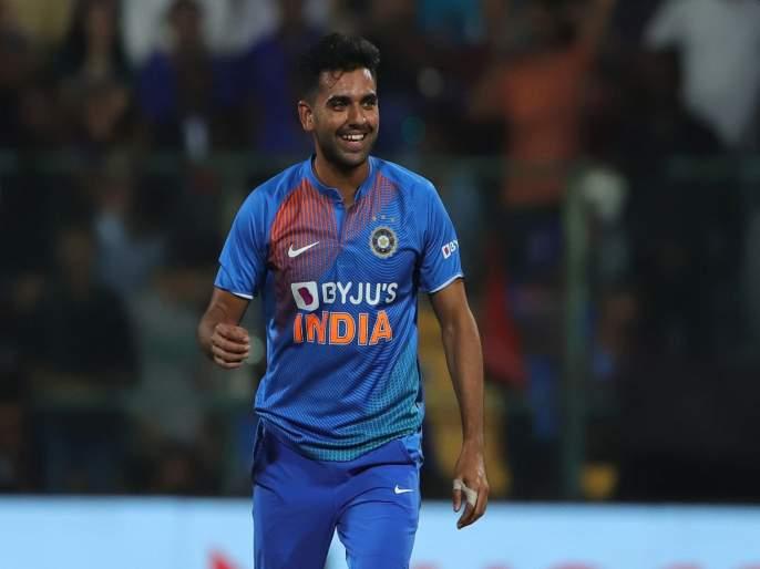 Deepak Chahar strikes again... Takes three wickets in last over; two were back-to-back in Syed Mushtaq Ali Trophy | दीपक चहरचा 'कहर'... एका षटकात घेतल्या तीन विकेट्स, पण...