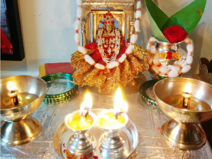 Read the celebration of chaitra navratra and chaitrangan | Chaitra Navratra 2021 : चैत्रात गौरी माहेरी येते आणि अक्षय्यतृतीयेला सासरी परत जाते; वाचा हा आनंदसोहळा!