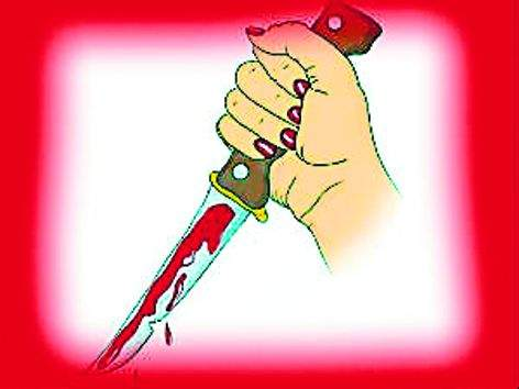 Knocking the fear of shock being a knife | शॉक लागण्याची भीती व्यक्त केल्याने चाकूने वार