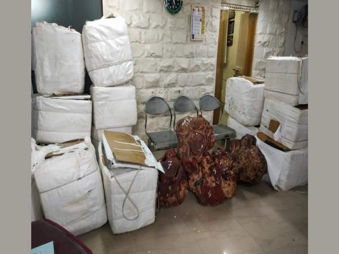 In case of red sandalwood smuggling, one arrested from Mira rod   रक्तचंदन तस्करी प्रकरणी एकास मीरारोडहून अटक