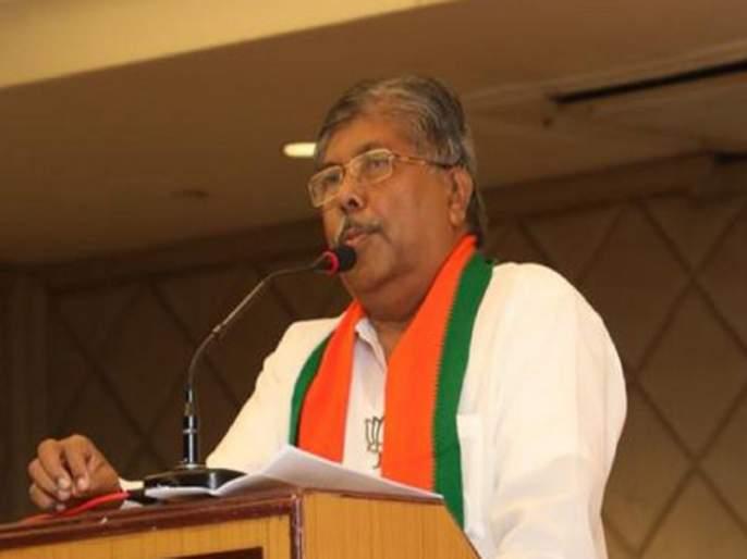 "chandrakant patil criticism jayant-patil and said that bjp is not involved in delhi farmers protest riots in sangli   ""दिल्ली हिंसाचारामागे केंद्र सरकारला जबाबदार धरणे अयोग्य, भाजपा सामील असल्याचा अपप्रचार"""