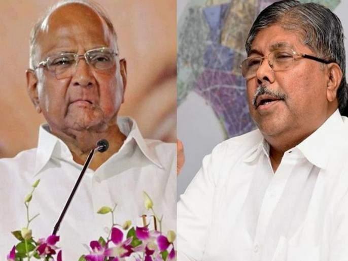 chandrakant patil demands that now sharad pawar should take dhananjay munde resignation | आता शरद पवारांनी धनंजय मुंडे यांचा राजीनामा घ्यावा: चंद्रकांत पाटील