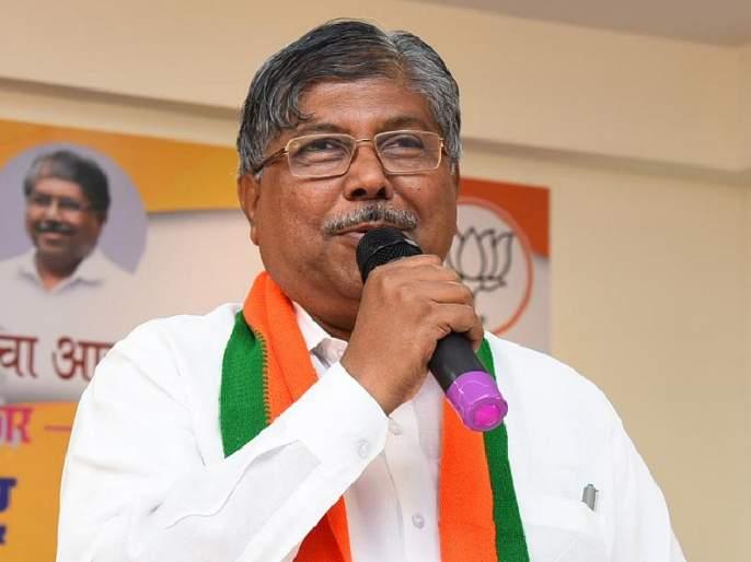 Maharashtra Vidhan Sabha Result bjp leader chandrakant patil gives clarification about his statement about kolhapur | महाराष्ट्र निवडणूक 2019: 'ते' वाक्य मी झोपेतसुद्धा उच्चारू शकणार नाही; चंद्रकांत पाटील यांचं स्पष्टीकरण