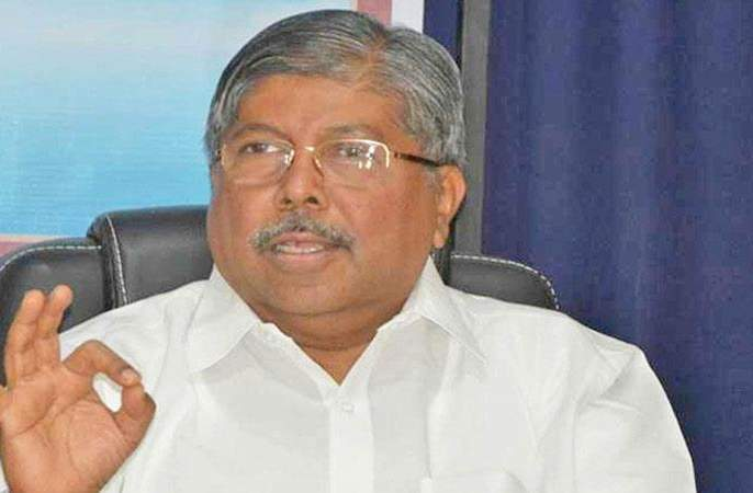 Government did not come because of unity: Chandrakant Patil | एकोप्याने वागलो नाही म्हणून सरकार आले नाही : चंद्रकांत पाटील