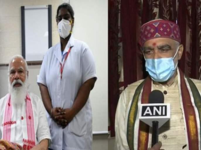ashwini kumar choubey says pm narendra modi is hanuman and corona vaccine is sanjeevani | पंतप्रधान नरेंद्र मोदी म्हणजे हनुमान, कोरोना लस ही संजीवनी; भाजप नेत्याची स्तुतीसुमनं