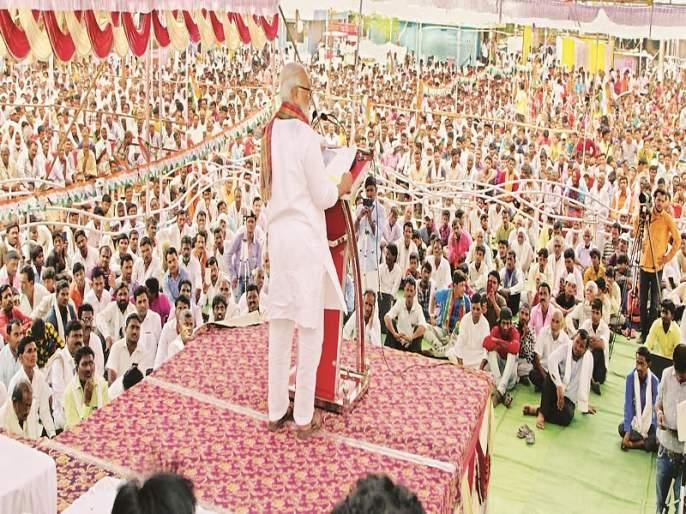 BJP government diverted Godavari water to Gujarat; The charge of Chhagan Bhujbal   गोदावरीचे पाणी भाजप सरकारनेच गुजरातला वळविले; छगन भुजबळ यांचा आरोप