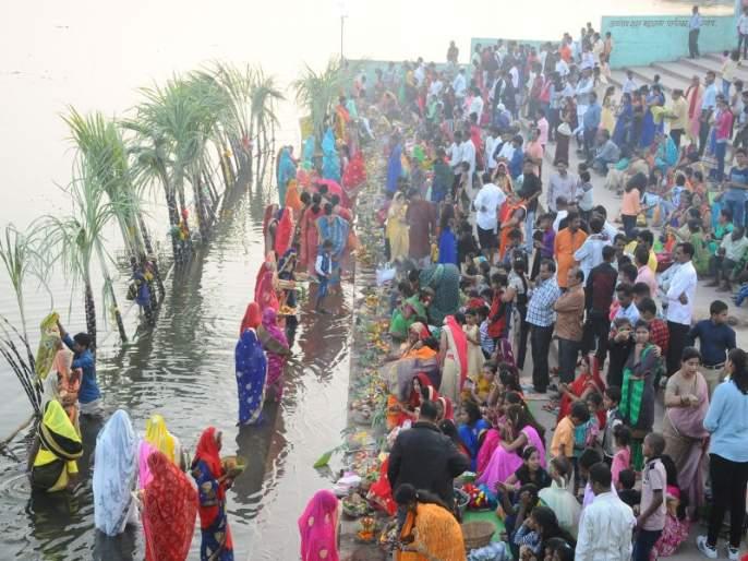 Politics heats up from Chhat Puja   छट पूजेवरून राजकारण तापल