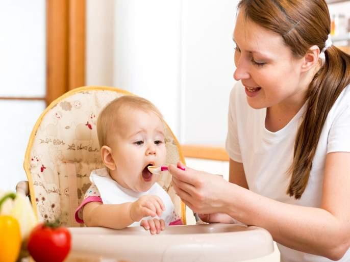 Blowing your kids food may prove dangerous for their dental health | मुलांचं जेवण थंड करण्यासाठी त्यावर फुंकर घालताय?; मग हे वाचाच...
