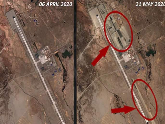 China Expands Airbase Near Ladakh Fighter Jets deployed kkg | चीन आक्रमक पवित्र्यात! लडाखजवळ धावपट्टीचा विस्तार जोरात; लढाऊ विमानं तैनात