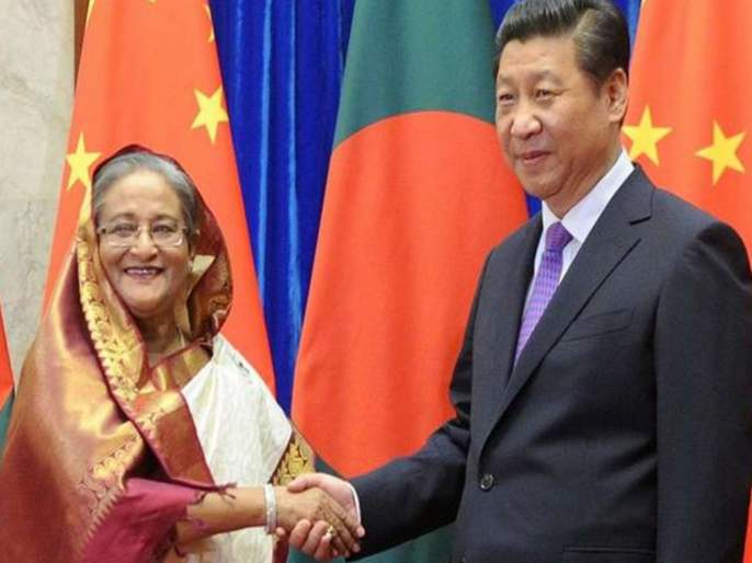 China's grip on India stronger than Bangladesh   बांगलादेशवर भारतापेक्षा चीनची पकड अधिक मजबूत