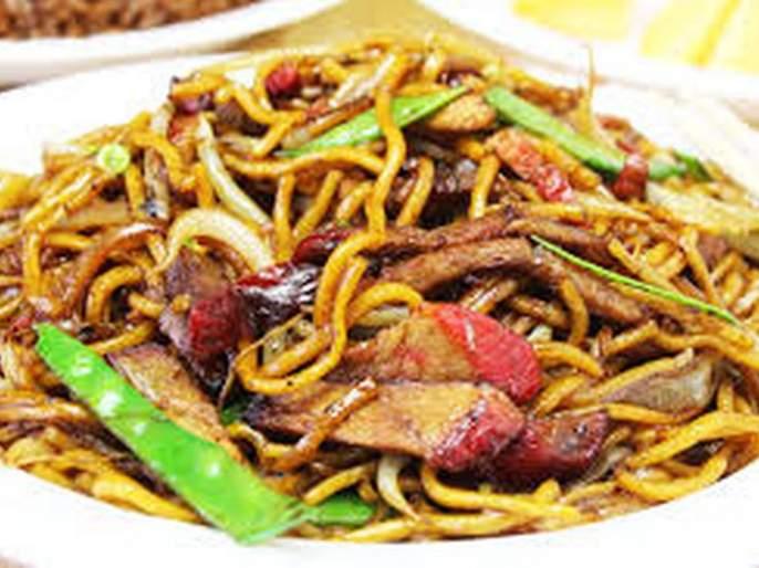 Corona fears Chinese fast food | चायनिज खवय्यांमध्ये कोरोनाची भीती!