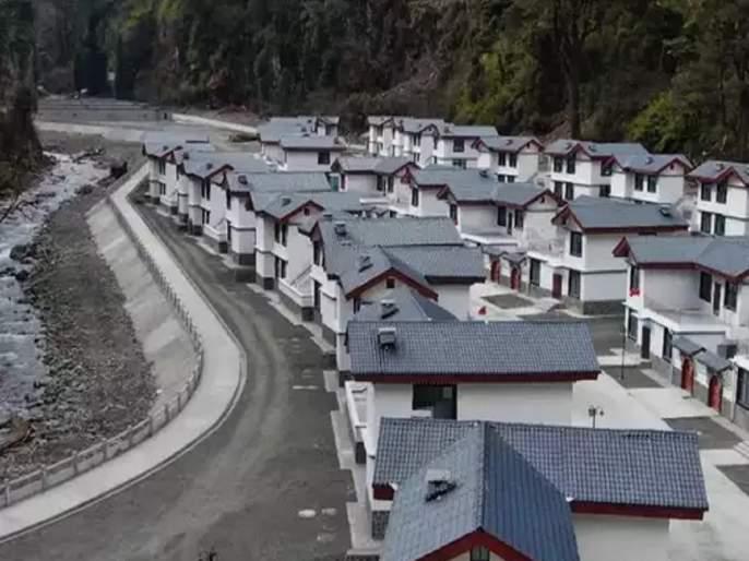 Construction in our own territory China on Arunachal village report | आमच्या भूभागावरच बांधकाम केलंय; अरुणाचल प्रदेशमधील 'त्या' प्रकरणावरून चीनने सुनावले