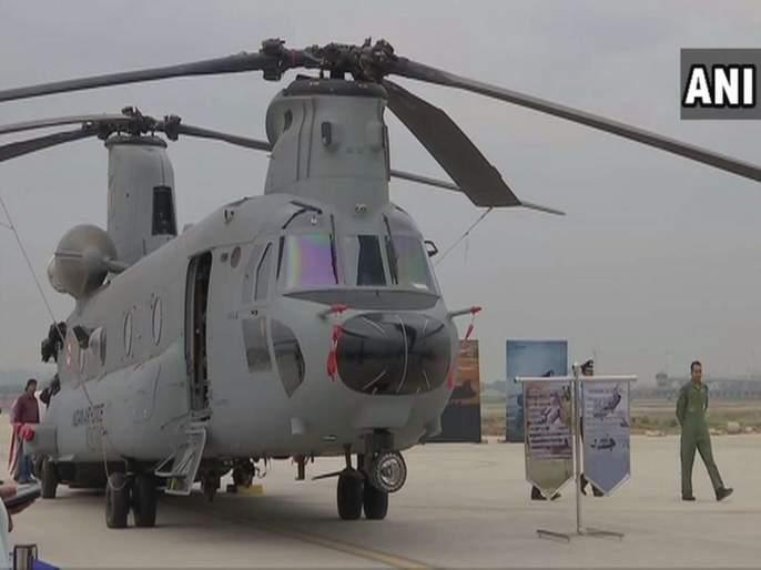Indian Air Force to induct the first unit of four Chinook helicopters today | नाद करायचा नाय... 'एअर स्ट्राईक' करणाऱ्या भारतीय वायुसेनेला चिनूक हेलिकॉप्टरचं बळ