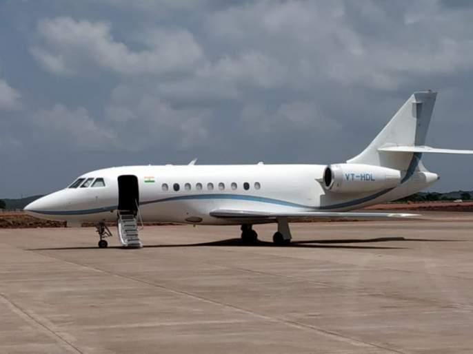 The flight from Chipi to the third flight has been successful | चिपी येथून तिसऱ्या विमानाचे उड्डाण यशस्वी