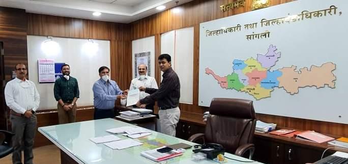 corona in sangli - From the Chitra Industries group in the background of Corona | corona in sangli- चितळे उद्योग समुहाकडूनएक कोटी पन्नास लाखाची मदत