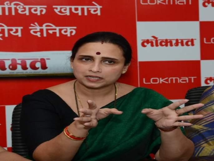 Government insensitive to women's safety; Allegation of Chitra Wagh   महिला सुरक्षेबाबत सरकार असंवेदनशील;चित्रा वाघ यांचा आरोप