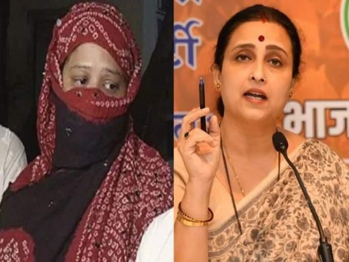 bjp leader chitra wagh demands mumbai police should take action against renu sharma dhananjay munde rape allegation | खोटे आरोप केल्याप्रकरणी रेणू शर्मांवर पोलिसांनी तात्काळ कारवाई करावी; चित्रा वाघ यांची मागणी