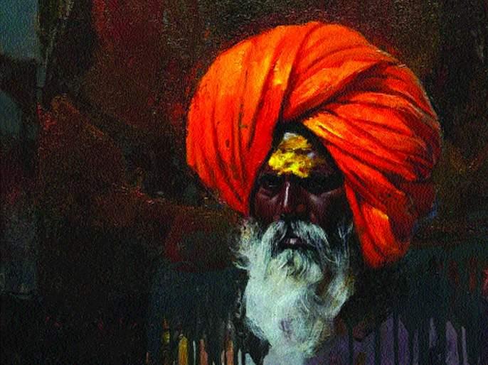 The honor of being a Marathi artist   मराठमोळ्या चित्रकारितेचा अमेरिकेत सन्मान