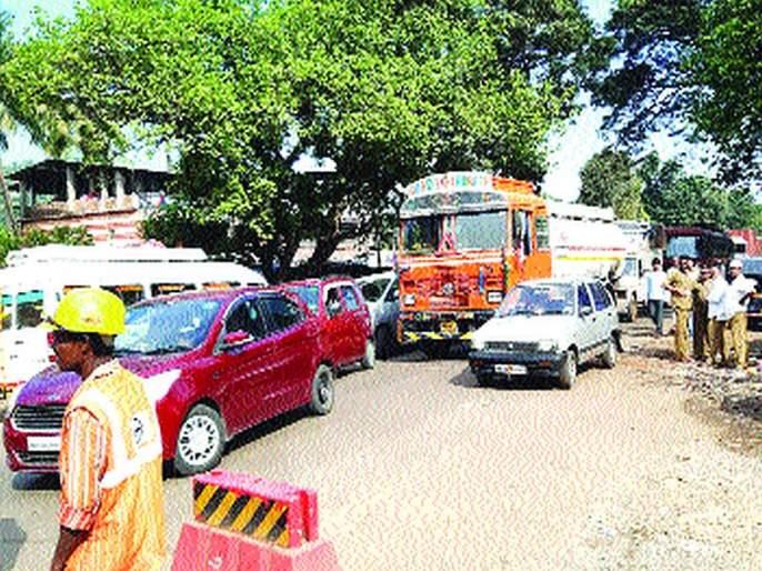 Speeding up work on four-laning of Goa Highway | गोवा महामार्ग चौपदरीकरणाच्या कामाला गती