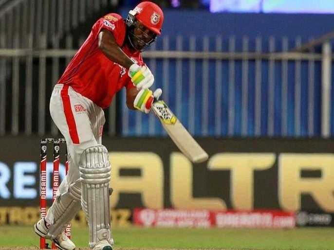 IPL 2020 chris gayle becomes first batsman to score 10000 t20 runs in fours sixes | IPL 2020: बापरे! केवळ चौकार-षटकारांच्या सहाय्यानेच पूर्ण केल्या १० हजार धावा; युनिव्हर्स बॉसचा दणका!