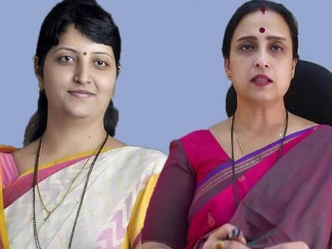 'Chitra wagh troll from netizens, NCP also critics on wagh tweet by rupali chakankar | 'नेटीझन्सकडून चित्रा वाघ ट्रोल, राष्ट्रवादीनंही वाजवला त्यांच्या 'तत्व'निष्ठेचा ढोल'