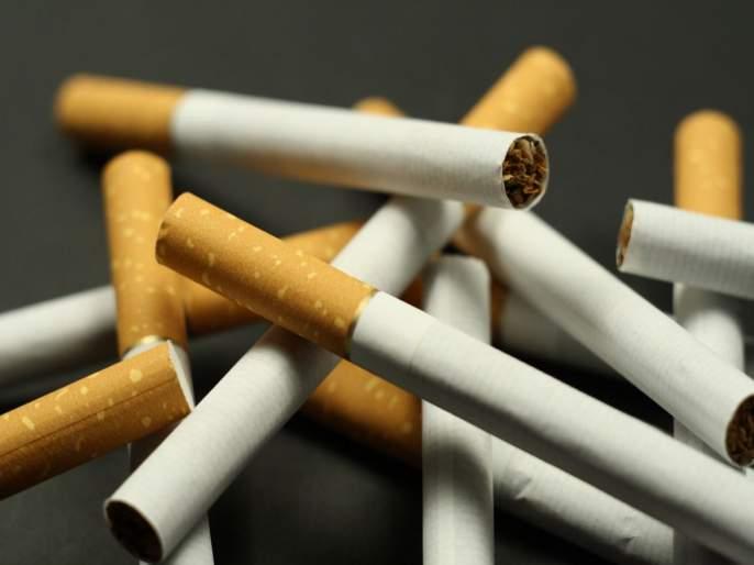 Parbhani: Seizes cigarettes worth Rs   परभणी : पावणेनऊ लाखांच्या सिगारेटी जप्त