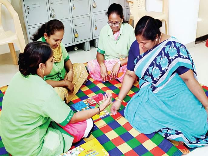 Innovative ideal outpost for sanitation workers   स्वच्छता कर्मचाऱ्यांसाठी अभिनव आदर्श चौकी