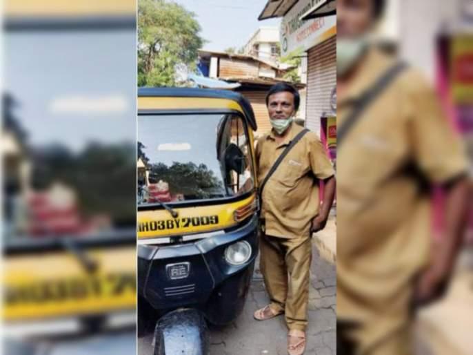 Mineral water in the rickshaw, Unmini TV; Vinod Abhang's modern rickshaw   रिक्षात मिनरल वॉटर, अन् मिनी टीव्ही;विनोद अभंग यांची आधुनिक रिक्षा