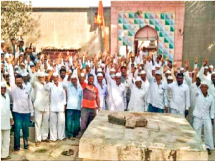 Villages rallied against the airport; farmers aggressive, vow not to give land | विमानतळाविरोधात गावे एकवटली;शेतकरी आक्रमक, जमीन न देण्याची शपथ