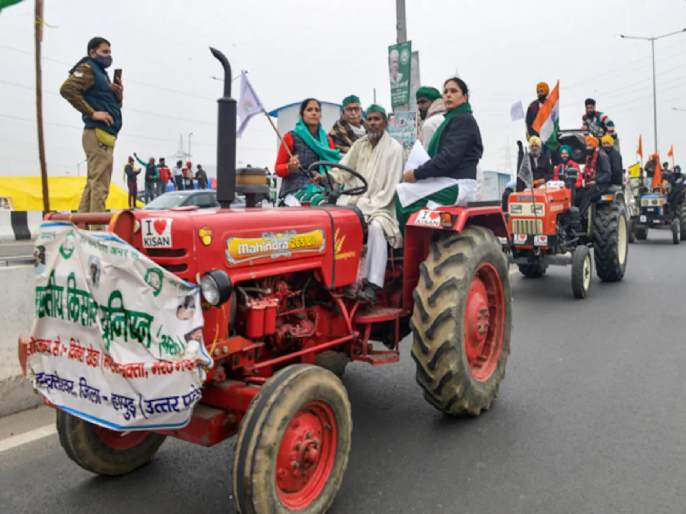 Farmers Protest: Demonstration on the streets of Delhi; The rally will continue till the last tractor runs out | Farmers Protest: दिल्लीत राजपथावर देशाचे शक्तिप्रदर्शन; शेवटचा ट्रॅक्टर संपेपर्यंत ही रॅली सुरू राहील