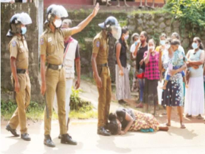 Sri Lankan prison riots kill 8, injure 37; The plot to escape was foiled | श्रीलंकेतील कारागृहात दंगल,8 कैदी ठार तर37 जण जखमी;पळून जाण्याचा कट उधळला