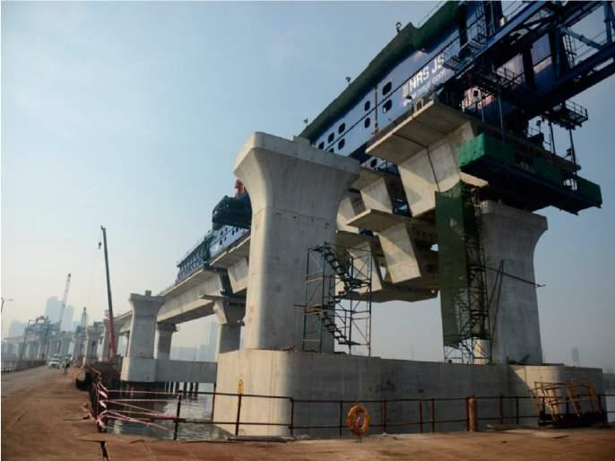 35% work of Mumbai Transharbour Link completed; The work will be completed by 2022, saving passengers time | मुंबई ट्रान्सहार्बर लिंकचे ३५% काम पूर्ण;२०२२ ला काम पूर्ण होणार,प्रवाशांचा वेळ वाचणार