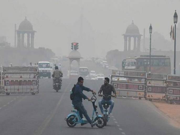 Pollution everywhere in Delhi-NCR; Air quality index 'diseased' | रेड झोनची चाहूल: दिल्ली-एनसीआरमध्ये सर्वत्र प्रदूषण;वायू गुणवत्ता निर्देशांक 'रोगट'